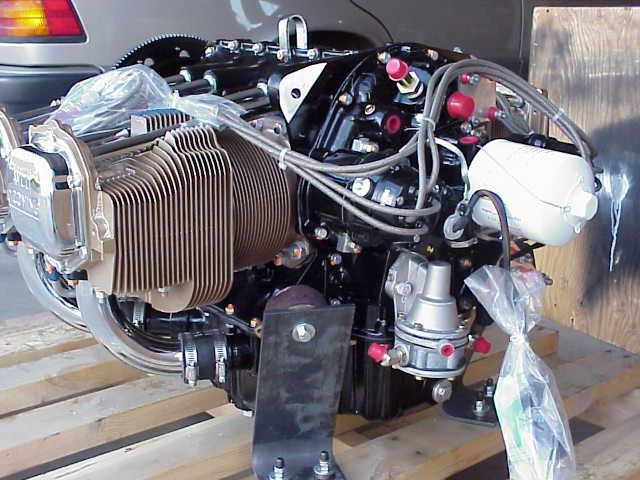RV-8 com - Engine
